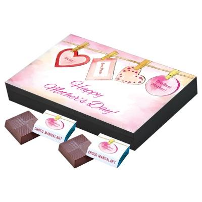 Personalized Mothers chocolate box 12 Pcs Customized Personalized Mothers Day Chocolate Box
