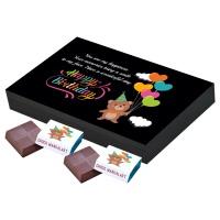 Girlfriend and Boyfriend Chocolate Birthday Gift (12 Pcs)