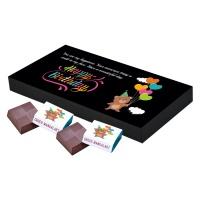 Chocolate Birthday Gift for Your Girlfriend Boyfriend (18 Pcs)