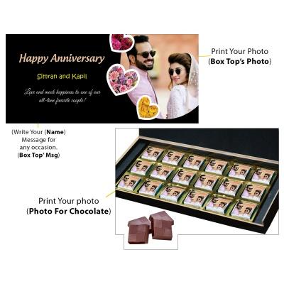 Personalised Marriage Anniversary Printed Gift  18pcs  9 Anniversary 18C