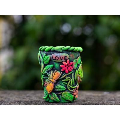 Creative Corner Tea Light Candle Holder  Creative Corner Hitchki Unique Wooden Artworks 0001 3