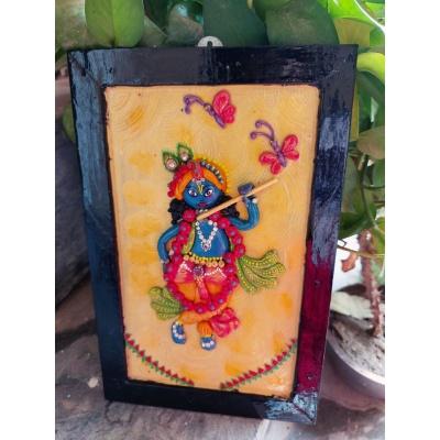 Krishna Customizes Handmade Wall Decor