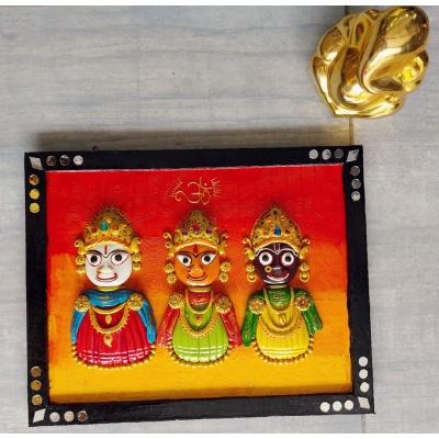 Lord Jagannath Swami Wall Decor Art  wall decor
