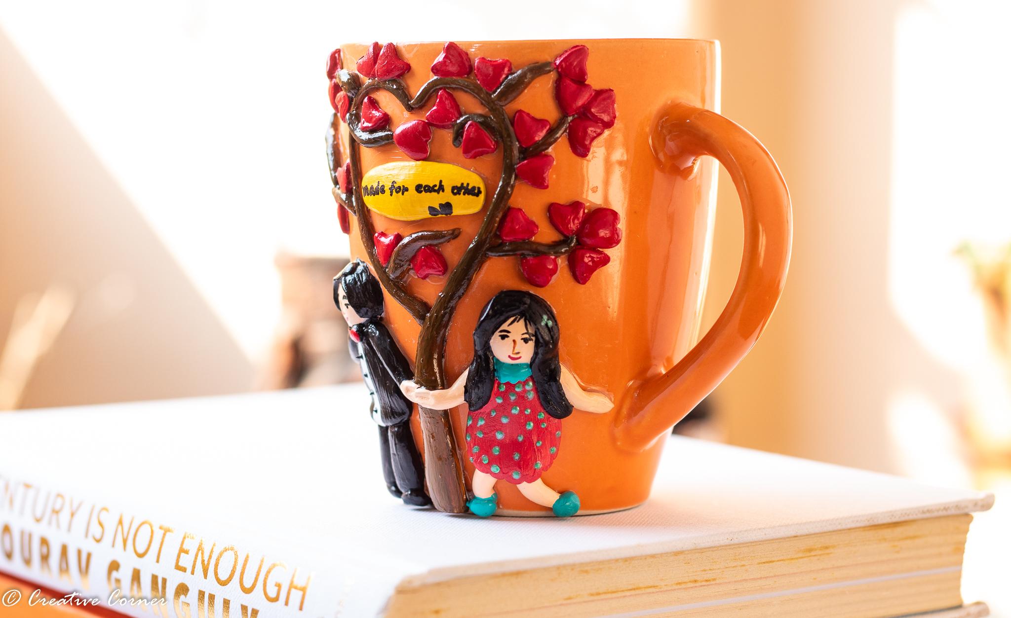 Love themed coffee mug.