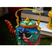 Mermaid Themed Decorative Kettle.