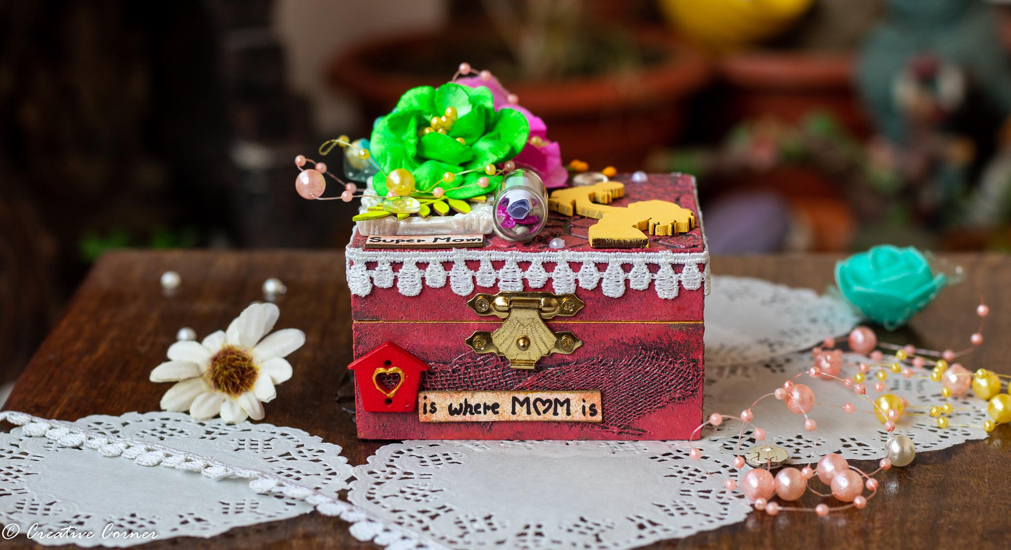 Multipurpose Wooden Box