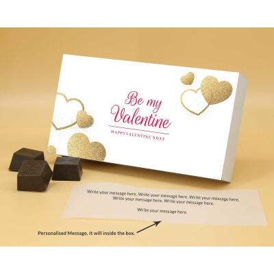 Be My Valentine Chocolates | Roasted Almonds 6Pcs  Valentaine Day 01RANPB