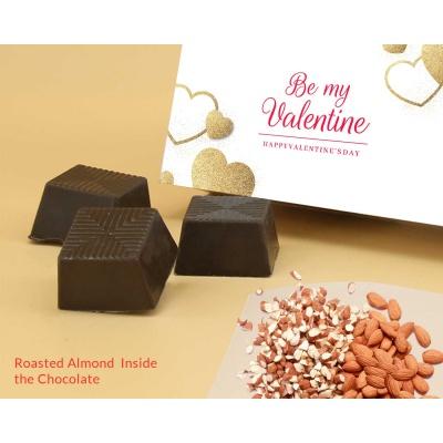 Be My Valentine Chocolates | Roasted Almonds 6Pcs  Valentaine Day 01RANPC
