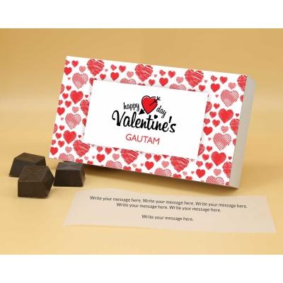 Roasted Almond Chocolates For Valentine 12Pcs  Valentaine Day 03RANP1
