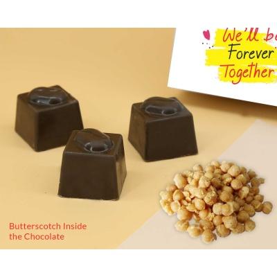 Chocolates For Valentine | Butter Scotch 6Pcs  Valentaine Day 05BSNP3