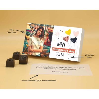 Photo Valentine Chocolates | Butter Scotch 6Pcs  Valentaine Day 09BSNPB