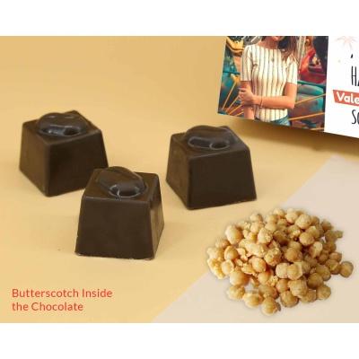 Photo Valentine Chocolates | Butter Scotch 6Pcs  Valentaine Day 09BSNPC