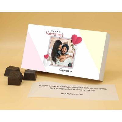 Couple Photo Valentine Gift | Almond Chocolates 18Pcs  Valentaine Day 15RANPA
