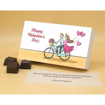 Romantic Chocolate Gift | Roasted Almonds 12Pcs  Valentaine Day 16RANPA