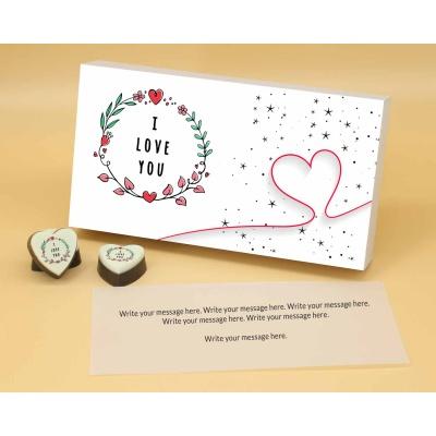 Heart Chocolates For Couple 12 Pcs  Valentaine Day 17HAPA