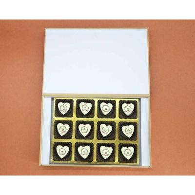 Heart Chocolates For Couple 12 Pcs  Valentaine Day 17HAPE