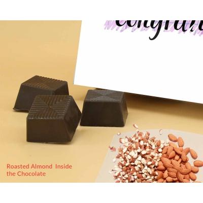 Congratulation Gift | Roasted Almond Chocolates 12Pcs  Valentaine Day 19RANPC