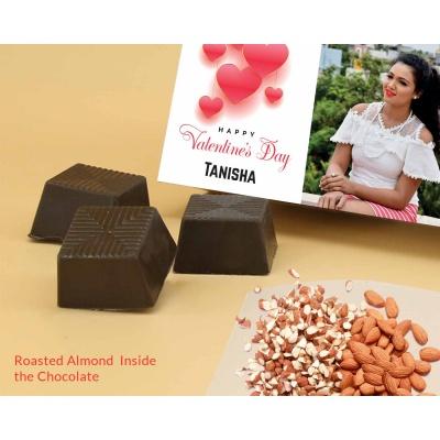 Lovely Gift For Valentine   Almond Chocolates 18Pcs  ValentaineDay02RANPC