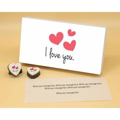 I Love You Heart Chocolates 6 Pcs  ValentaineDay12HAPA