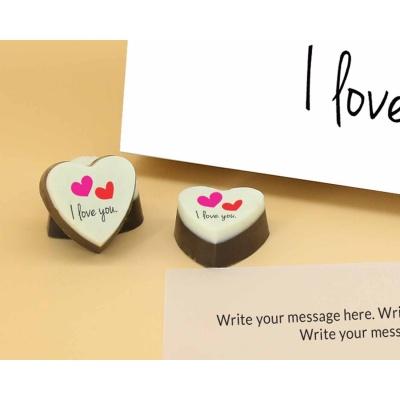 I Love You Heart Chocolates 6 Pcs  ValentaineDay12HAPC
