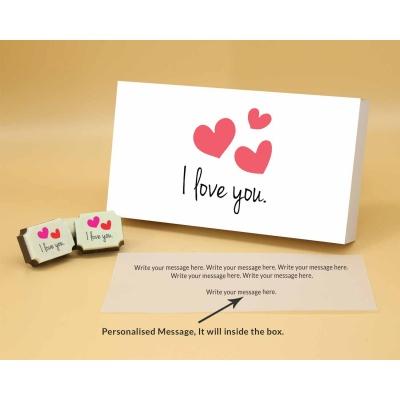 I Love You Chocolates 18 Pcs  ValentaineDay12RAPB