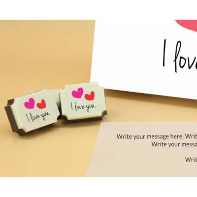 I Love You Chocolates 18 Pcs  ValentaineDay12RAPC