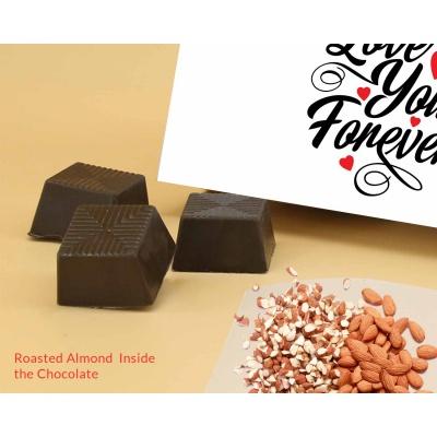 Best Valentine Gift | Roasted Almond Chocolates 12Pcs ValentaineDay13RANPC