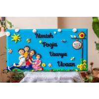 family nameplate design