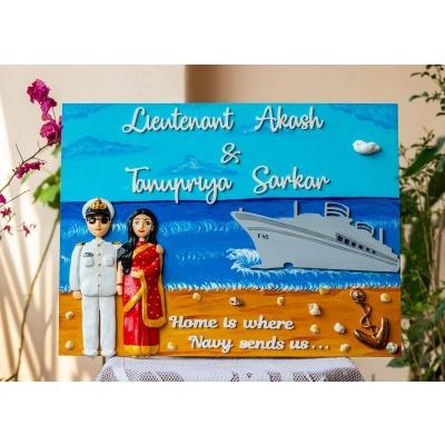 Customized Name Plates With Photos Hitchki indian navy nameplate