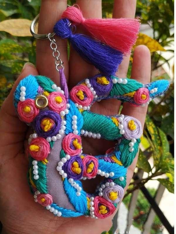 pink umbrella hitchki creative handmade gifts 02 0032
