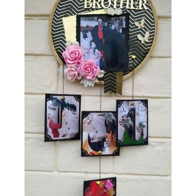 Black and Gold Memory Catcher The Pink Umbrella pink umbrella hitchki creative handmade gifts 10 0006